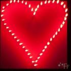 Herz brennend